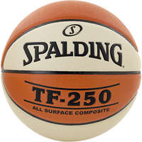 Spalding Basketbal TF250 All Surface Composite maat 6 oranje creme