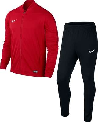 Nike Academy 16 Knit trainingspak rood