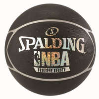 Spalding NBA Highlight Outdoor Basketbal Black/Silver