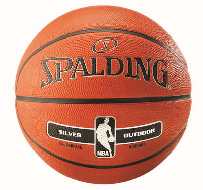 Spalding NBA Silver Outdoor Basketball New