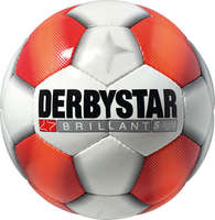 Derbystar Voetbal Brillant S-Light Wit rood oranje
