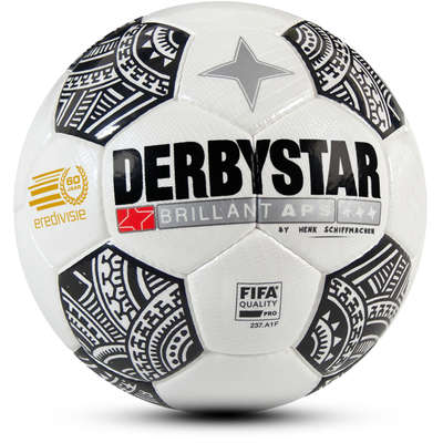 Derbystar Voetbal Brillant APS Eredivisie 2017-2018 Tattoo Wit zwart