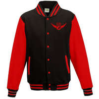 Falcons College Jacket Red