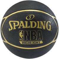 Spalding Basketbal NBA Highlight Zwart/Goud