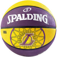 Spalding Basketbal NBA L.A. Lakers paars/geel