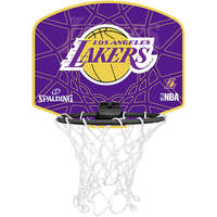 Spalding Basketbal Miniboard Los Angeles Lakers paars/geel