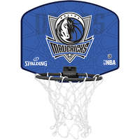 Spalding Basketbal Miniboard Dallas Mavericks Blauw