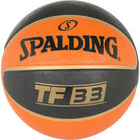 Spalding Basketbal TF33 outdoor Zwart/Oranje