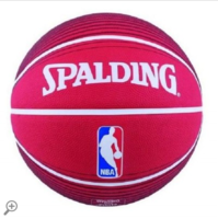 Spalding Basketbal NBA Logoman rood/wit