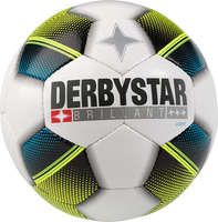 Derbystar Voetbal Brillant Light wit blauw geel 1122