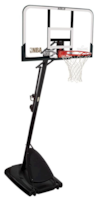 Spalding Portable Basketbal System  NBA Gold Polycarbonate
