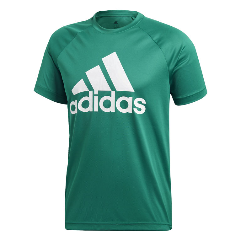 NU 20% KORTING: adidas Performance functioneel shirt D2M TEE LOGO
