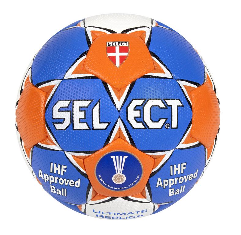 Handbal replica Ultimate maat 2-3 blauw oranje
