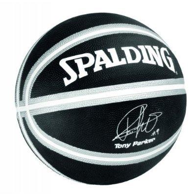Spalding Basketbal Tony Parker NBA San Antonio Spurs zwart/silver