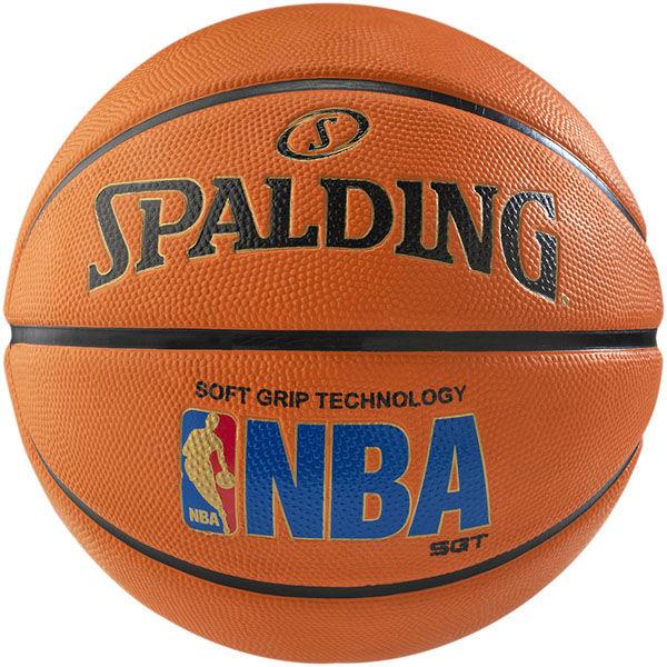 Spalding NBA Logoman Soft Grip Indoor-Outdoor Basketball