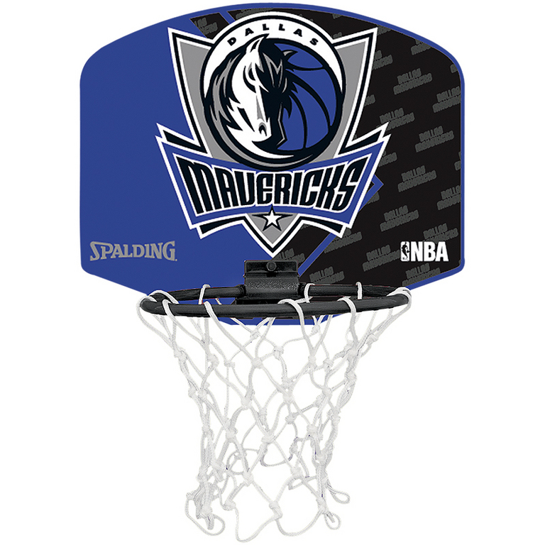 Spalding Basketbal Miniboard Dallas Mavericks blauw/zwart