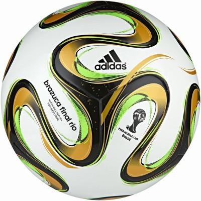 Adidas Voetbal Brazuca Rio Officiële Replica Wedstrijdbal