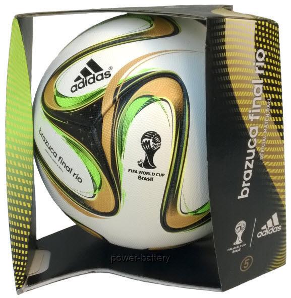 Adidas Voetbal Brazuca Rio Officiële Wedstrijdbal