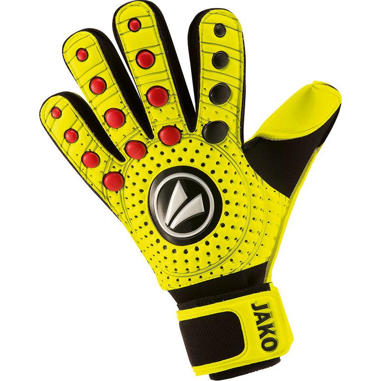 Jako Keepershandschoenen Dynamic Classic Neon Geel-Zwart-Rood